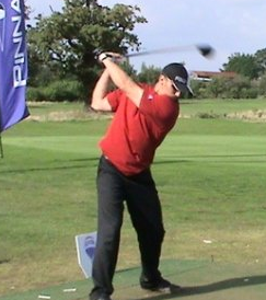 Swingman Golf Premier Member with swing speed close to 130